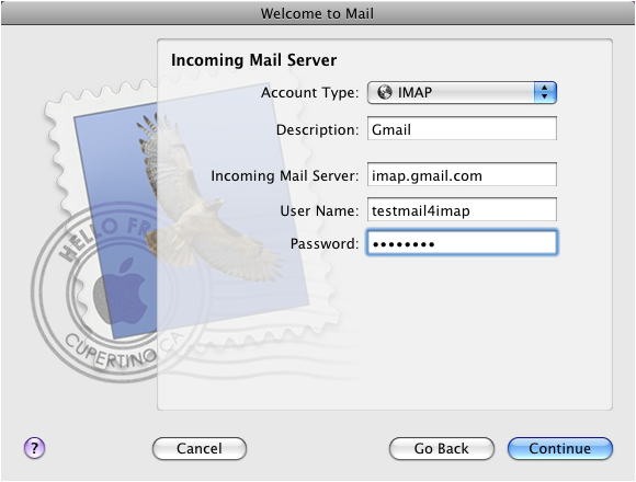 1. Configure your Gmail (or Google Apps) account