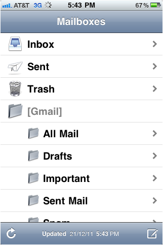 Gmail iphone image13