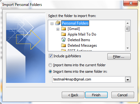Gmail Outlook 2007 image16