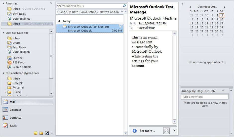 gmail outlook 2010