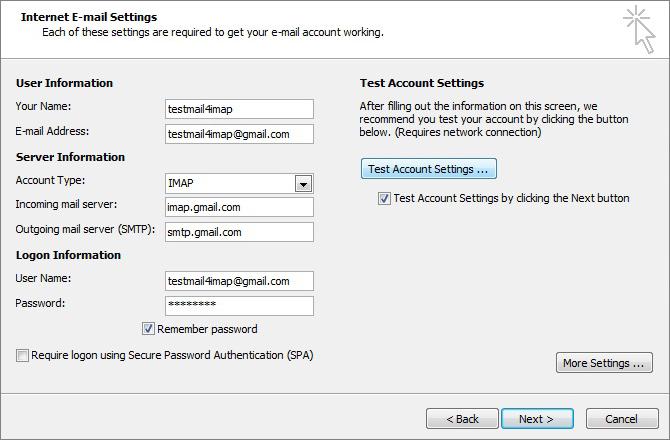 Gmail hookup
