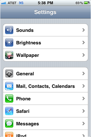 how do i change my yahoo password on my iphone