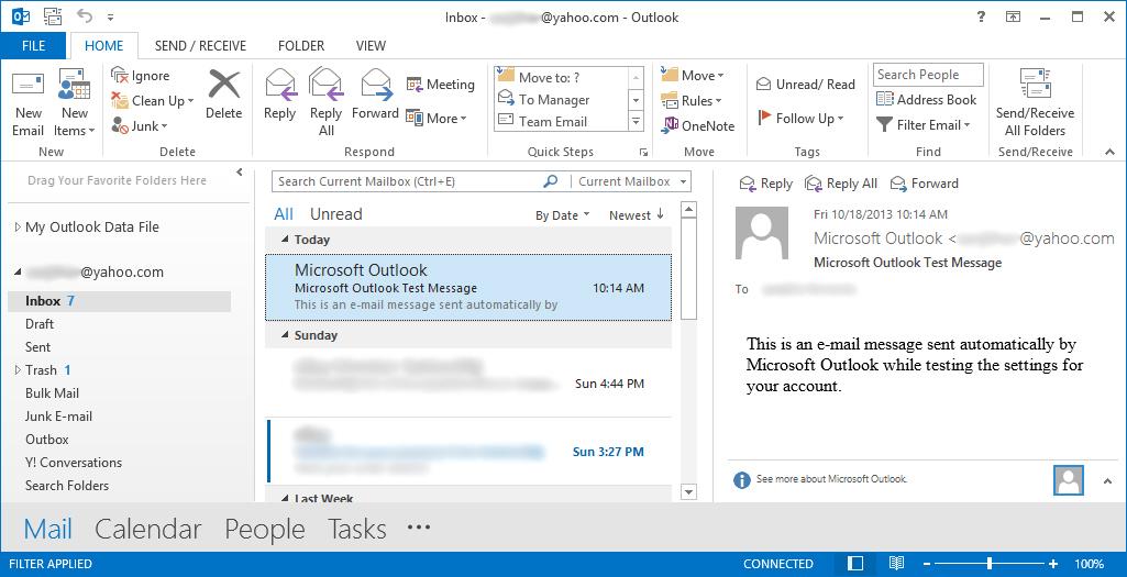 yahoo Outlook 2013 Image10
