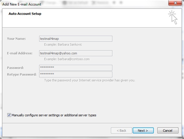 Bellnet-E-Mail-Einstellungen